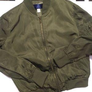 Francesca's bomber jacket